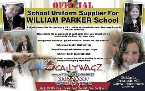 Daventry William Parker