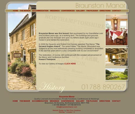 Website Design Braunston