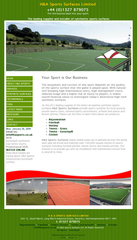 Website Design in Rugby