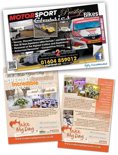 Leaflet Design Daventry