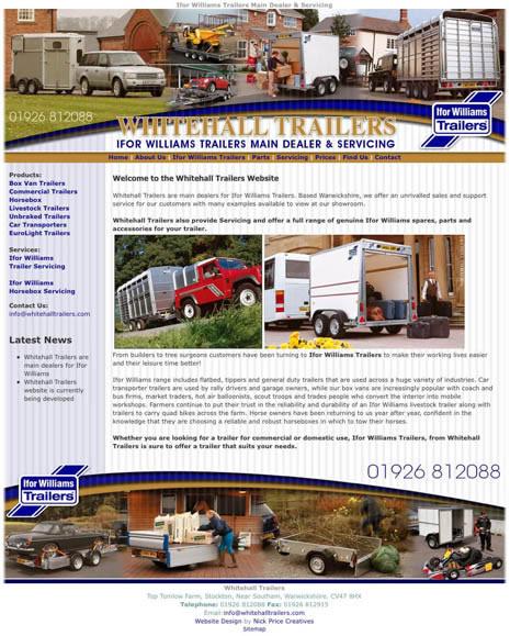 Southam Website Design