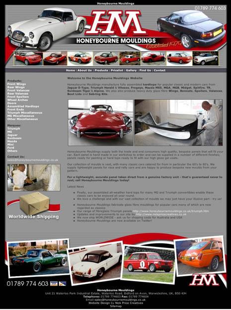 Website Design Stratford upon Avon