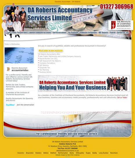 Website Design Daventry