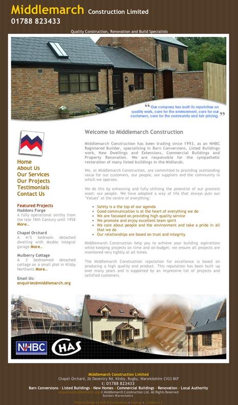 Website Design Kilsby